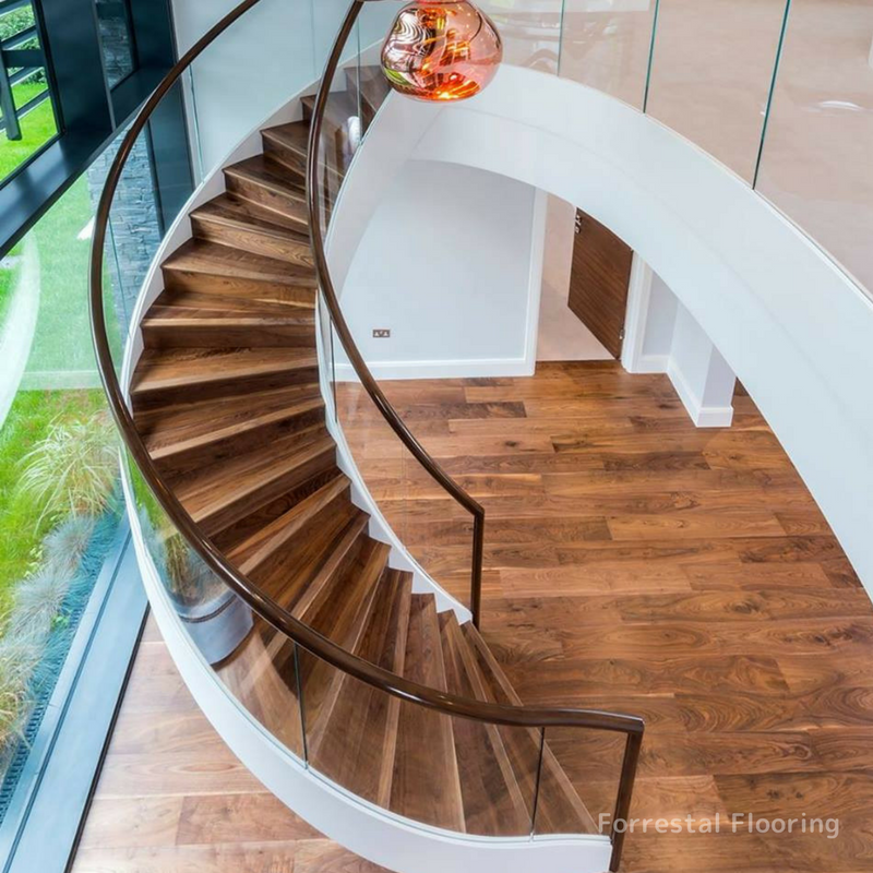 Walnut Staircase 1